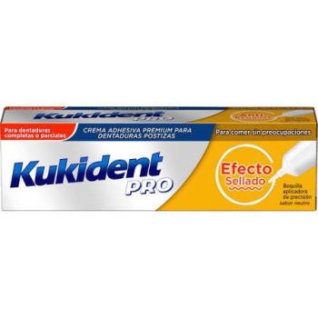 Kukident Dentaduras Postizas,40gr, Efecto Sellado.
