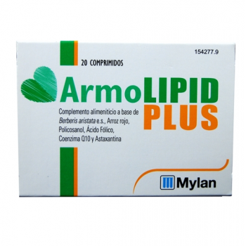 Armolipid Plus; 20 comprimidos.