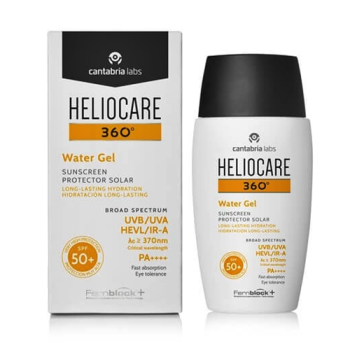 Heliocare 360º Water Gel 50 ml, Protector Solar Spf50+.