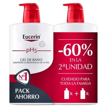 Eucerin - Gel Baño; 1000ml. Pack 2Un.