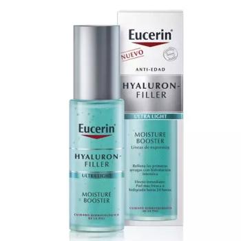 Eucerin Hyaluron Moisture Booster 30 ml, Gel Hidratante y Refrescante.
