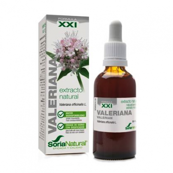 Soria Natural Valeriana Extracto, 50ml.