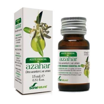 Soria Natural Aceite Esencial de Azahar,15 ml.