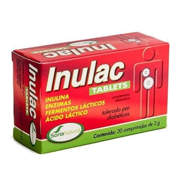 Soria Natural - Inulac Tablets; 30comprimidos.