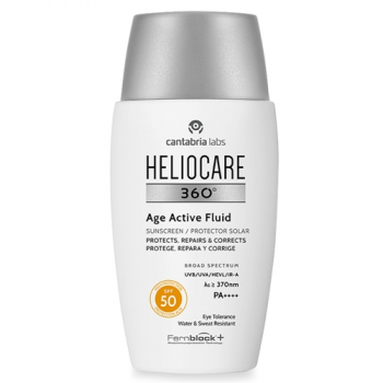 Heliocare 360ºAge Active Fluid 50ml SPF50, Protector Solar.