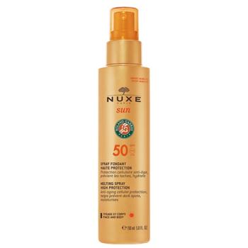 Nuxe Sun Spray 150 ml, Leche Rostro y Cuerpo Spf50.