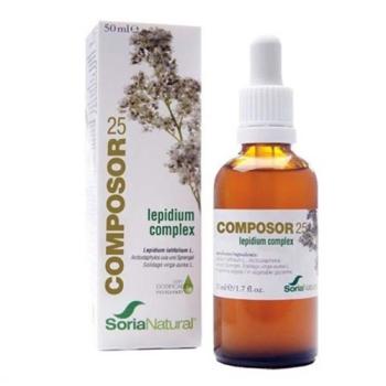 Soria Natural - Composor 25, Lepidium Complex - 50 ml.