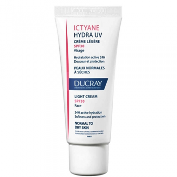 Ducray Ictyane - Hydratante Crema Ligera Spf30; 40ml.